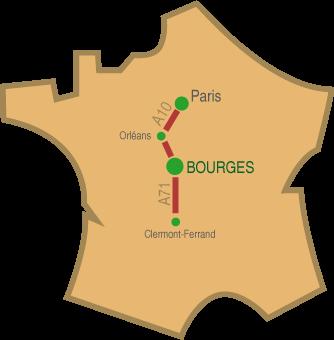 Nous rendre visite Maison des Forestines Bourges